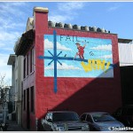 Chicken John's New Mural (And Message):
