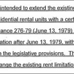 Just Cause Eviction Rights Extension II: Now Just For Foreclosures