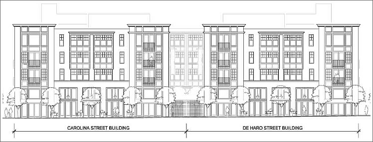 Floor plans of commercial and residential buildings for Retail building plans