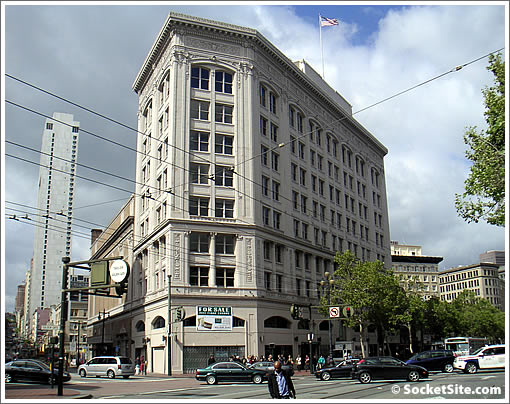 The Warfield Building: 988 Market (www.SocketSite.com)