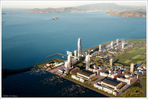 Treasure Island Rendering (Image Source: SOM)