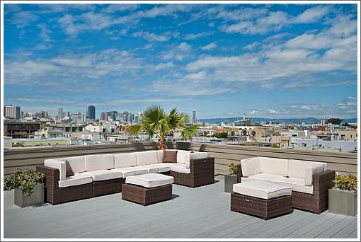 736 Valencia Rooftop Terrace