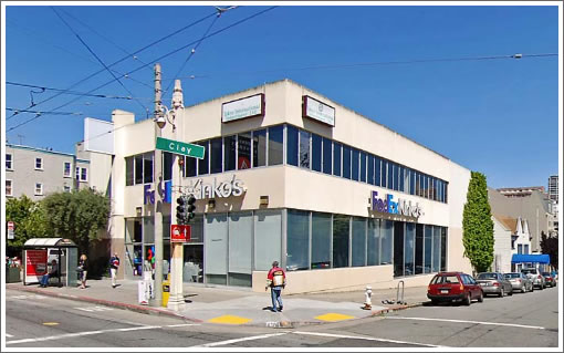1800 Van Ness Avenue (Image Source: MapJack.com)