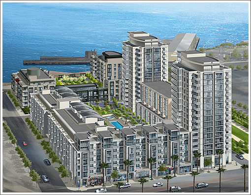 Radiance at Mission Bay Phase II: Rendering