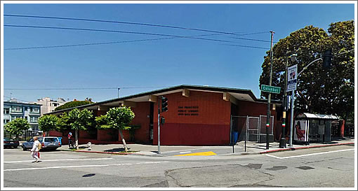 North Beach Branch Library (Image Source: MapJack.com)
