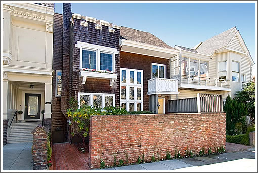 A Maybeck Design (Versus Designed) At 893 Ashbury