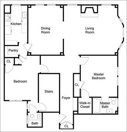 square shaped house floor plans home design and style