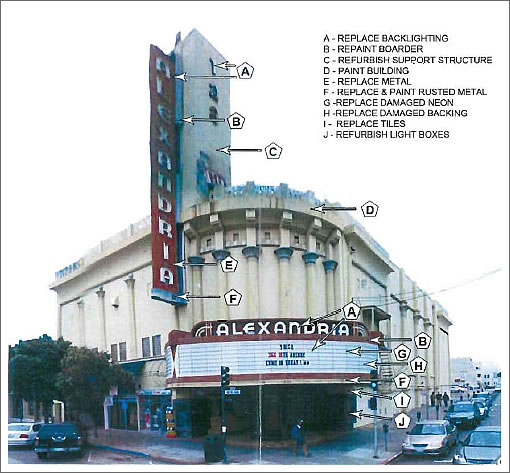 Proposed Alexandria Theater Improvements