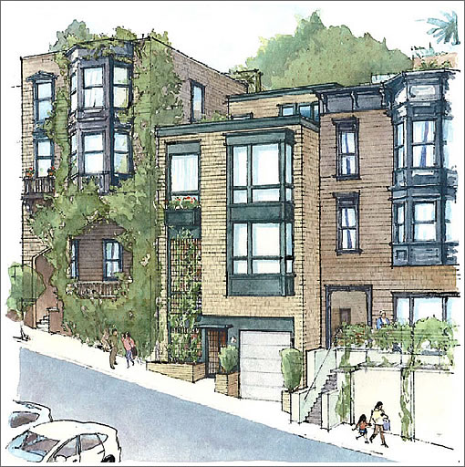 1269 Lombard as Proposed