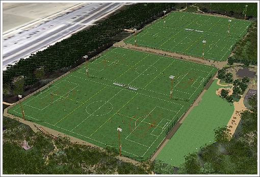 Beach Chalet Athletic Fields Facility As Proposed