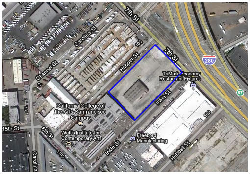 Cca Sf Campus Map.Socketsite California College Of Arts Acquires Former Greyhound Yard