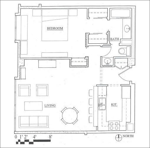 2040 Franklin #708 Floor Plan