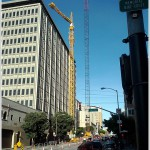 A Re-Skinning Crane Has Risen At 680 Folsom Street