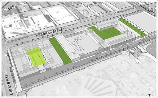 801 Brannan Preliminary Design Green Space