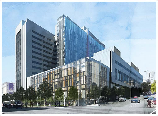 CPMC Cathedral Hill Rendering