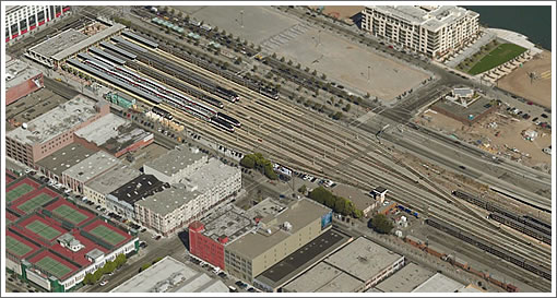 San Francisco's Fourth and King Street Railyard