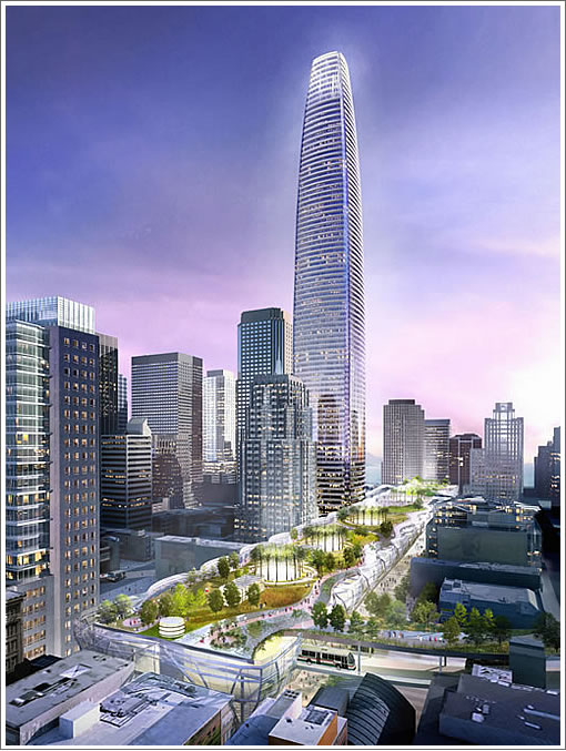 Transbay Tower 2007