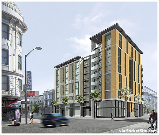 The Designs For Sixth And Howard Before Redevelopment Was Razed