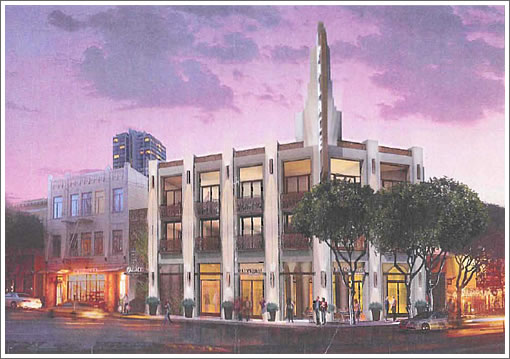 Pagoda Theater Rendering 2010