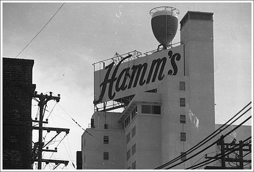 San Francisco Hamm's Sign
