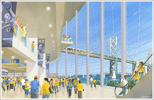 Warriors Stadium Interior Concept