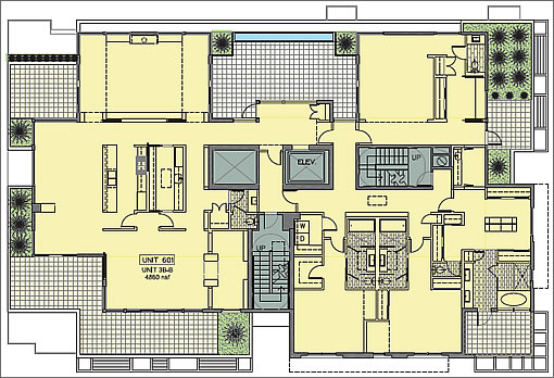 1601 Larkin #601 Floor Plan