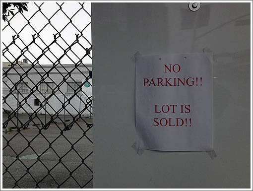 No Permits Yet, But Now No Parking (Nor BMRs) At 3500 19th Street