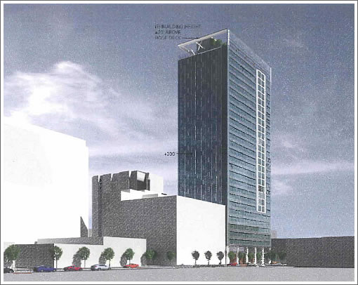 100 Van Ness: Revised Rendering