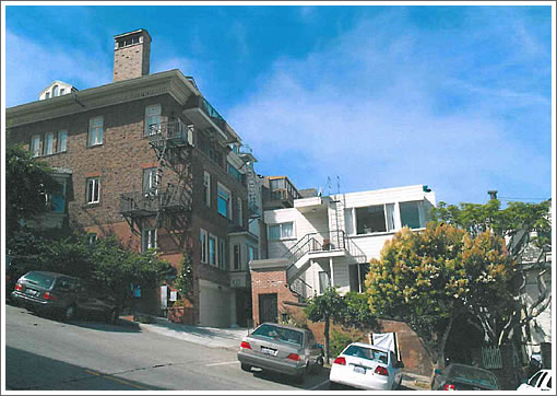 Supported By Neighbors But Opposed By Planning In Pacific Heights