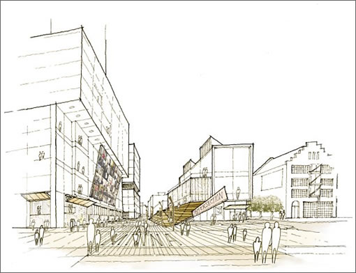 Chronicle Site Rendering: Minna Elevation