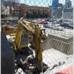 Preparing For The Construction Of 201 Folsom Street