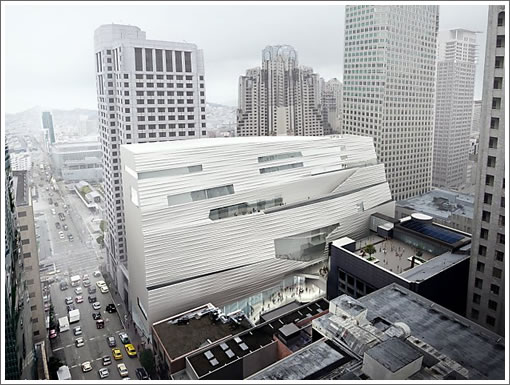 SFMOMA Expansion Detailed Rendering