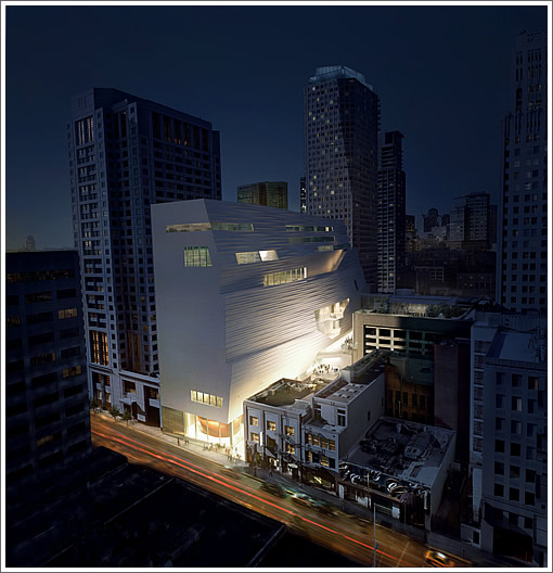 SFMOMA Expansion Rendering: Night