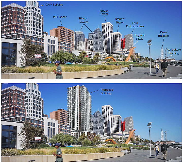 SocketSite The Impact Of A Proposed 31 Story Tower On