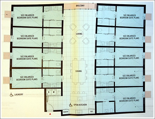 Big plans for hightech group housing on harrison have b besides Rustic Barn Style House Plans also Post Beam Homes Floor Plans moreover Cad Pergola Details And Drawings also Modular Villas Mallorca. on single story house plans is designed for construction in