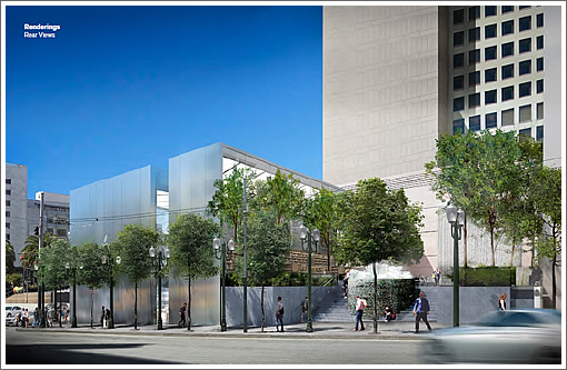 The Designs For Apple's Proposed Union Square Store Plaza