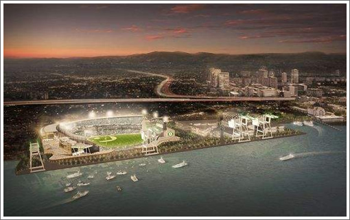 Designs For A Second Bayfront Ballpark To Save The Oakland A's