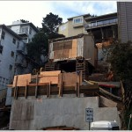 Remains Of Collapsed Home Hoisted,