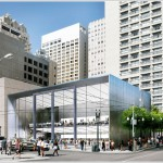 Façade For Apple's Flagship Store Redesigned, Opens To The Street