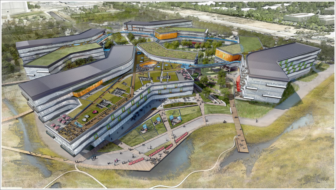 Google Rebooting Plans For New Mountain View Campus