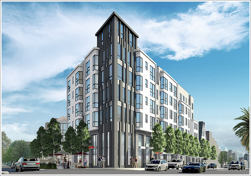 New Designs For Dwellings (And Retail) At Market And Sanchez