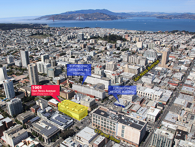KRON-TV's 1001 Van Ness Building Sold To Housing Developer