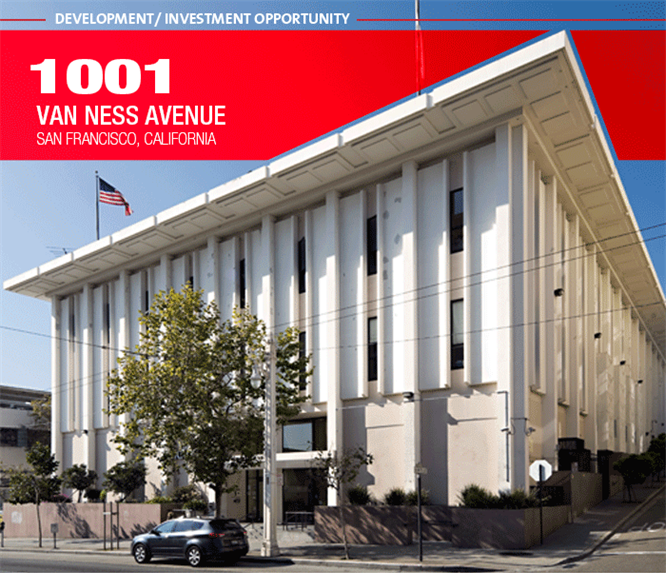 KRON-TV's 1001 Van Ness Building Sold To