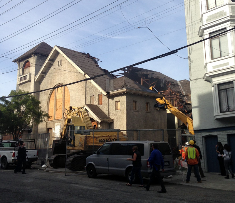 Razing The Roof For Condos To Rise