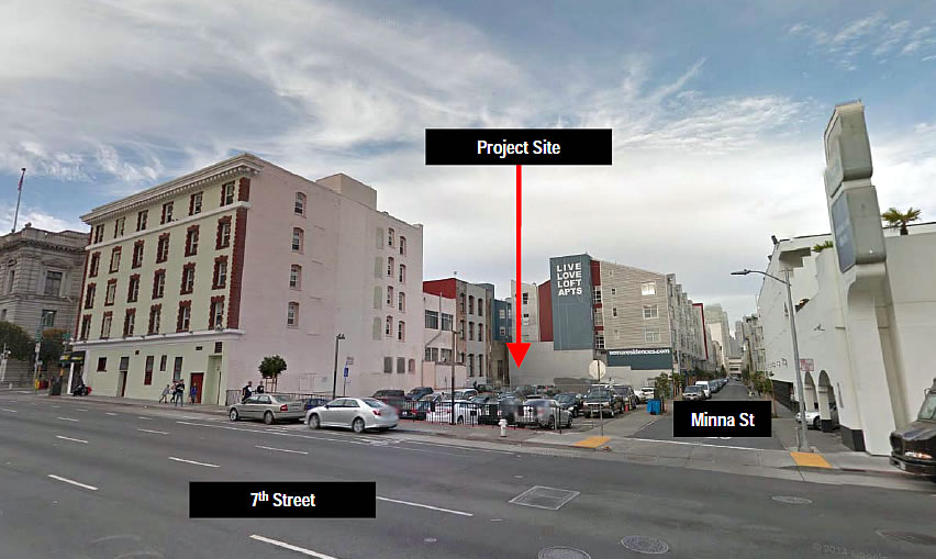 Plans For Condos To Rise On The Parking Lot At 7th And Minna