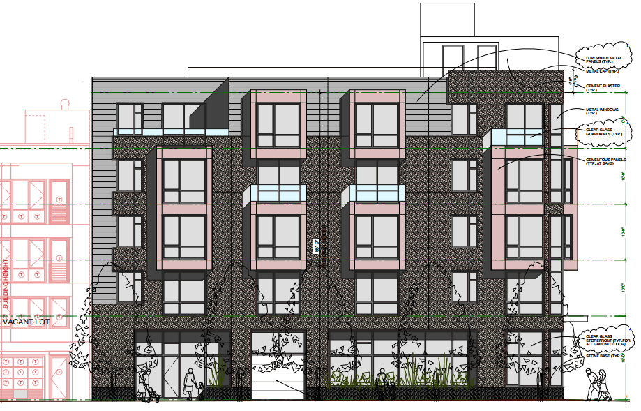 3420 18th Street Design: Carlos Street Elevation