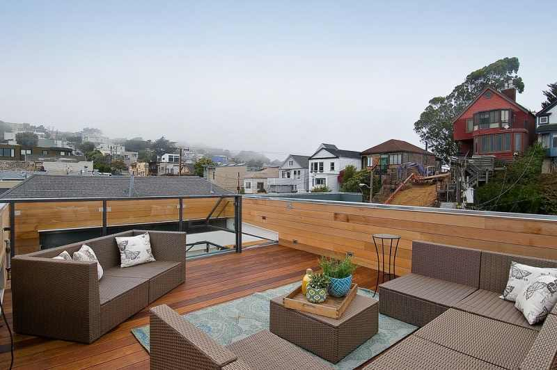 Socketsite high tech noe home hits the market for 3 for Garage with deck on top