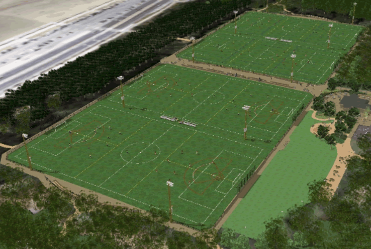 Beach Chalet Athletic Fields Design