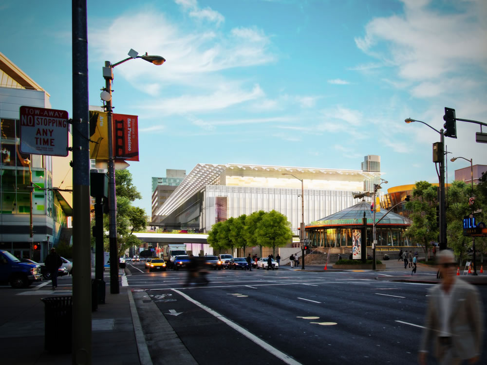 Moscone Center Expansion Rendered As Proposed