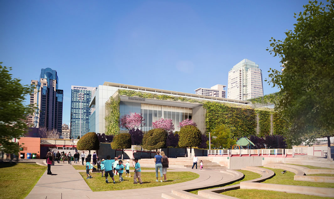 Moscone Center Expansion: Children's Garden